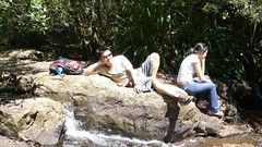 Sleeping Buddha with Bored Woman (ahyang) Tags: jeff sherwin weijun springbrooknationalpark