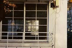 farewell sunlight (gracias!) Tags: street sunlight white film window japan tokyo pentax aoyama omotesando mz5  dojunkaiapartment