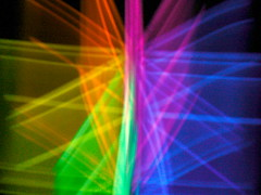 Night rainbow (perfect_hexagon) Tags: color colors night dark fun crazy rainbow exposure glow glowstick glowies