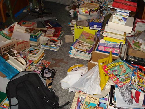 Literary Bedroom Disaster - Books, Comics and More