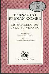 Fernando Fernán-Gómez, Las bicicletas son para el verano