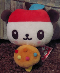 Pandapple Mushroom Plush (Robozippy) Tags: cute mushroom hellokitty plush sanrio kawaii pandapple