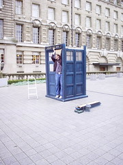 Doctor Who Tardis by Andrew* on Flickr!