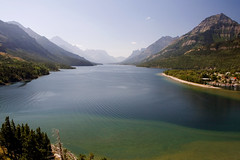 Upper Waterton Lake (Robby Edwards) Tags: vacation lake canada water nationalpark shoreline shore alberta watertonlakes waterton watertonlakesnationalpark watertonglacierinternationalpeacepark abigfave upperwatertonlake