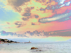 Il Mio Sogno E' Un Mare Acido (Master Mason) Tags: sea summer sky panorama costa mer color beach colors strange stone clouds photomanipulation photoshop landscape psp weird holidays nuvole mare waves estate acid apocalypse cost croatia 2006 cielo technicolor roccia bagno colori croazia spiaggia scs vacanze adriatic onde croatian adriatico hrvatska baska krk acido canonpowershota60 scoglio litfiba apocalisse starabaska mastermason lanouvellerevolutionsurrealiste apaia