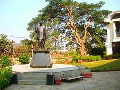 Mahavihara statue of Ambedkar