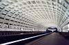 Side Platform Station, Ballston Metro - Explored! (f0rbe5) Tags: usa film station design dc washington metro ae1 platform ceiling northamerica 1989 ballston metrostation washingtonmetro explored ballstonmetrostation