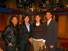 Julie Chen hangs out with KUAM (Jason Salas) Tags: nyc kuam rtnda