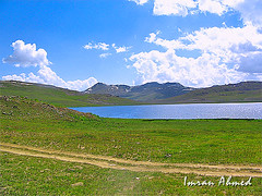 Sheosar Lake (Aawara) Tags: pakistan nature barapani deosai skardu sheosar sheosarlake deosaiplains