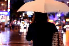Raining tonight: about the umbrella...
