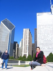 Anna in the city (anna_bencze) Tags: travel chicago wow fun