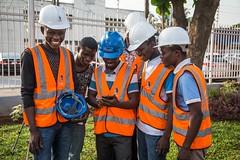 Construction Workers, Lagos Nigeria (Devesh Uba) Tags: construction constructionworkers snapitoga menatwork nigeria nigerians naija