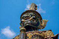 2016_04-Bangkok-M00040 (trailbeyond) Tags: architecture asia bangkok building gold location outdoors pattern religiousbuilding statue temple templeoftheemeraldbuddha texture thailand thegrandpalace watphrakaew