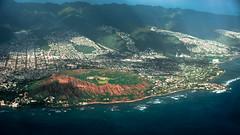 Hawaii USA - Oahu Island.  Honululu.  A Historical Look at Diamond Head Crater. (Extinct Volcano) (Feridun F. Alkaya) Tags: volcano diamondheadhawaii hawaii usa ngc crater diamondheadcrater oahu