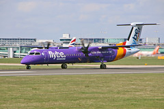 G-PRPD DHC-8Q 402 Flybe MAN 18-04-18 (PlanecrazyUK) Tags: egcc manchester man ringway manchesterairport gprpd dhc8q402 flybe 180418