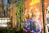 OLDENBURG - Metal Wall / - Street: Stedinger Straße, Drielaker Straße / -  Graffiti, Streetart / - the 5th picture (tusuwe.groeber) Tags: projekt project lovelycity graffiti germany deutschland lowersaxony oldenburg streetart niedersachsen city stadt farbig farben favorit colourful colour sony sonyphotographing nex7 bunt red rot art gebäude building gelb grün green yellow abs psk diejungs wandgestaltung metal wall wand stedingerstrase drielakerstrase