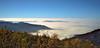 Inversionswetter im Herbst (MHikeBike) Tags: wald berge wasser bäume nationalpark schwarzwald nordschwarzwald baiersbronn huzenbach schönmünzach wandern wege ruhe stille berg baum landschaft rheinebene schwarzwaldhochstrasse inversion herbst blau