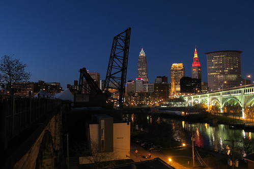Twilight in Cleveland