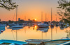 Golden Hour (nicklucas2) Tags: christchurch dorset water reflection river stour quay priory boat buoy yacht sun sunrise
