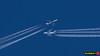 A7-APH vs G-BNLY (Zsolt Máté) Tags: a388 a7aph airbus b744 ba baw boeing britishairways ellx gbnly lux luxembourg qr qtr qatarairways contrail