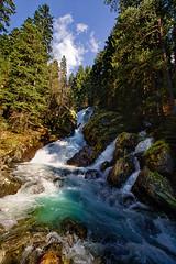 Bistrishki waterfall - Rila mountain (Sayman K) Tags: samyang10mm 10mm bulgaria landscape grass photo samyang f28 ed color sky rila mountain sony a6000 ilce6000 sony6000 nature bistrishki waterfall