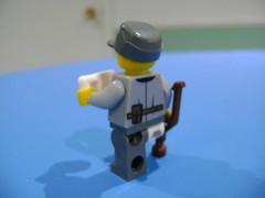 DSC09989 (TekBrick) Tags: custom lego ww2 german soldier crutch white cup war brick moc