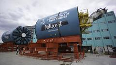 Ursula & Millicent (McTumshie) Tags: 20180513 london millicent tbm thamestidewaytunnel tideway tunnelboringmachine ursula civilengineering supersewer tunnel tunneling england unitedkingdom