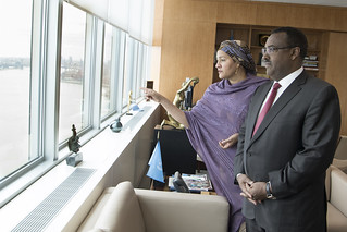 Deputy Secretary-General Meets with Deputy Prime Minister of Ethiopia