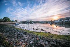 At ease (NikNak Allen) Tags: plymouth plympton hooe turnchapel devon stones seaweed lake river sea water reflection boats houses sky sun clouds sunrise morning early longexposure 10stop l