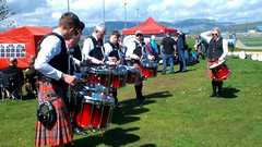 Scotland Gourock Highland Games drummers practicing video 13 May 2018 by Anne MacKay (Anne MacKay images of interest & wonder) Tags: scotland gourock games drummers practicing video 13 may 2018 by anne mackay highland