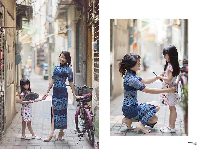台南親子旗袍寫真 7