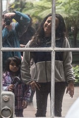 DSCF0022 (The Mythic Observer) Tags: reflection window mirror pane kid photographer fuji xt2