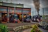 under steam (Peter's HDR-Studio) Tags: petershdrstudio hdrstudio steamlocomotive dampflok lokomotive lokschuppen dampf steam black schwarz