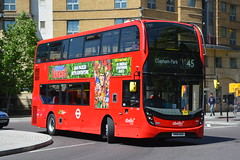 SN18 KKV (2606) Abellio London (hotspur_star) Tags: londontransport londonbuses londonbus londonbuses2018 alexanderdennisltd enviro400hmmc tfl transportforlondon hybridbus hybridtechnology busscene2018 doubledeck abelliolondon sn18kkv 2606 45