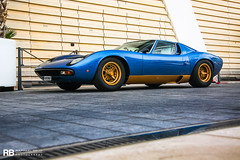 Lamborghini Miura SV (Raphaël Belly Photography) Tags: rb raphaël monaco principality principauté mc montecarlo monte 98000 carlo hotel de paris french riviera south france luxury supercar supercars spotting car cars voiture automobile raphael belly canon eos photographie photography casino lamborghini miura sv blue bleu bleue or gold doré dorée golden