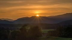 DSC_8660: Comrie, Scotland (Colin McIntosh) Tags: bogtonbraes strathearn sunset cloudsstormssunsetssunrises
