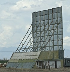 Screen, Frontier Drive-in Center, CO. Abandoned (Bill Jacomet) Tags: co colorado travel trip drive 2018 frontier drivein center abandoned