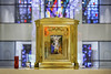 Shrine of the True Cross - Tabernacle 1 (Mabry Campbell) Tags: 2018 april catholic dickinson galvestoncounty houston mabrycampbell shrineofthetruecross texas usa zieglercooper church commercial image photo religion sacred tabernacle