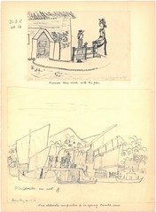 Artwork by Dora Collingwood, age 10 (cuspecialcolls) Tags: collingwood 19thcentury artwork drawing sketching study