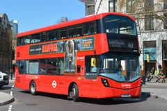 LK17 AHZ (HV317) Arriva London (hotspur_star) Tags: londontransport londonbuses londonbus londonbuses2018 wrightbus volvob5lh tfl transportforlondon hybridbus hybridtechnology busscene2018 doubledeck arrivalondon lk17ahz hv317 468