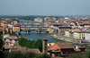 Ponte Vecchio (Sam_samy) Tags: firenze italy arno ponte vecchio florence water river city buildings bridge landscape view michelangelo piazza