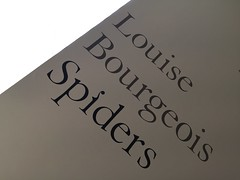 Louise Bourgeois Spiders (cbcastro) Tags: exhibition louisebourgeoisspiders sanfranciscomuseumofmodernart sfmoma sign sanfrancisco