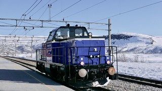 Grenland rail locomotive at Ustaoset
