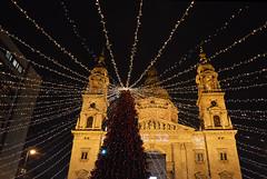 Bazilika (sunsetsára) Tags: budapest nikon christmas market holiday season festive night nightscape light lights bazilika