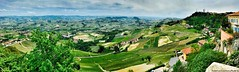 The Langhe .... (La Morra, Piedmont, Italy) (Federico Fulcheri Photo) Tags: italy piedmont lamorra looking town wine spring colors blue green relax unesco visit tourism horizon silence landscape clouds sky nature nopeople outdoors snapseed iphone8plus iphone apple