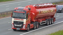 L77 TFS (panmanstan) Tags: volvo fh wagon truck lorry commercial bulk tanker freight transport haulage vehicle a1m fairburn yorkshire