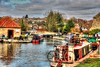 Boats (Sheptonian) Tags: canal boat houseboat river canon photomatix painteffects