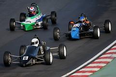 9m- Thompson, Acton & Bradshaw battle it out (Boris1964) Tags: 2006 formulafordfestival brandshatch