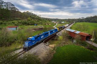Kanawha River Railroad in Glouster, OH #2