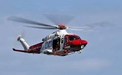 AUGUSTA (Dafydd RJ Phillips) Tags: gciln augusta westland aw139 sar search and rescue raf st athan coastguard new quay